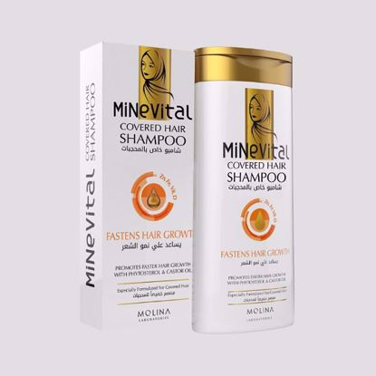 Picture of MINE VITAL SHAMPOO FASTENS HAIR GROWTH