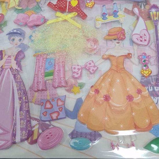 صورة Barbie dress change stickers(Random Selection)