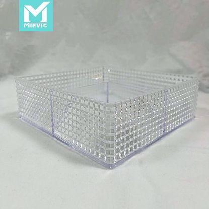 صورة Square Crystal Storage Box(167*167*57mm)